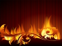 Yard Sign Background 04- Fire