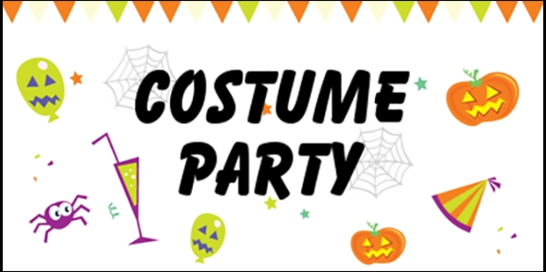 Halloween 05 Costume Party Banner