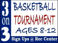 Basketball 04- Tournament Yard Sign