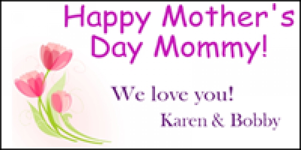 Mother's Day 04 Banner Layout