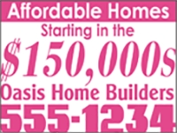 Affordable Homes Starting at 150k Panel Template