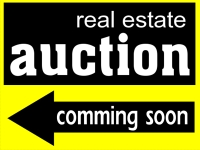Financial-08 Real Estate Auction Yard Sign