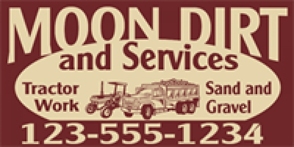 Tradesman 08- Truck & Tractor Work (Sand & Gravel) Template