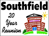 Reunion 04- Southfield 20 Year Yard Sign