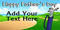 Father's Day Banner Layout 03