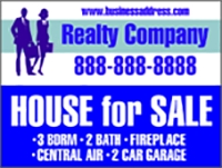 Realty Company House for Sale Design Template