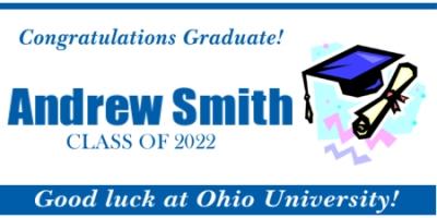 graduation banners design templates